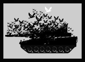 Friedenstaube 1 - Denkstahl