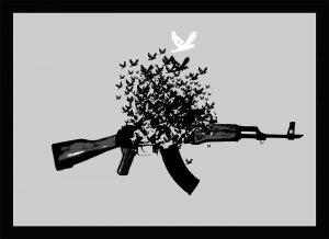 Friedenstaube 2 - Denkstahl